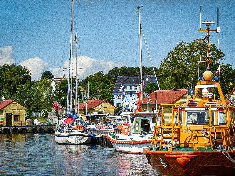 Fischerhafen Freest